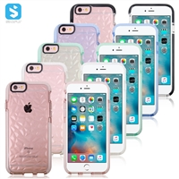 TPU case for iPhone 6(s) (diamond lines)