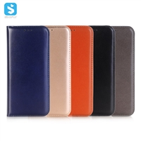 2 in 1 bright leather phone case for Samsung Galaxy S9