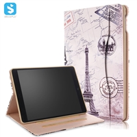 TPU front stand Universal Printed case for ipad 9.7 2017/2018  ipad air(5),ipad air2(6)