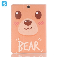 cartoon leather case for Samsung Galaxy Tab S2 9.7/ SM-T 810/815