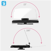 wireless charger Mobile GPS Navigation Bracket HUD Head Up Display Car Mount Stand Phone Holder