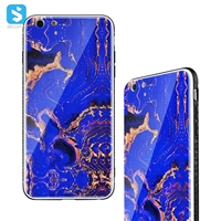 TPU+PC+glass double color phone case for iPhone 6(s)Plus