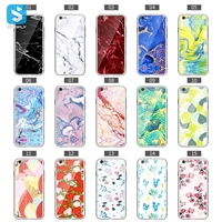 TPU+PC+glass double color phone case for iPhone 6(s)