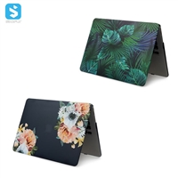 water sticker floral case for macbook Air 12(new macbook)
