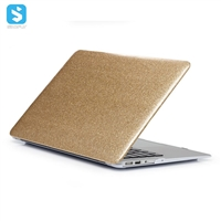 skin glitter case matte PC back cover for macbook Pro 13