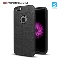 Litchi line TPU phone case for iPhone 6(S)Plus