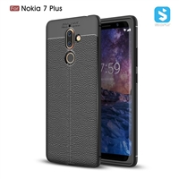 Litchi line TPU phone case for Nokia 7 Plus