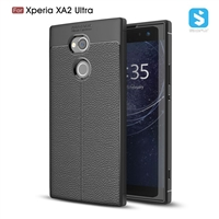Litchi lines TPU phone case for SONY  Xperia XA2 Ultra