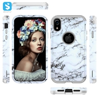 PC TPU phone case for iPhone XR