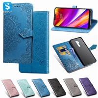 emboss PU leather case for LG G7 ThinQ