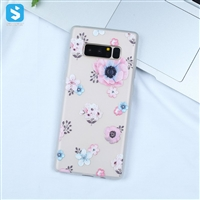 white Matte emboss TPU phone case for Samsung Galaxy Note 8