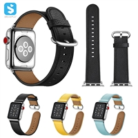 Real leather watchband for Apple watch 1 2 3