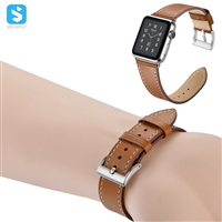 cowhide watchband for Apple watch 1 2 3