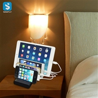 4USB charger phone stand