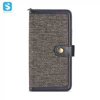 TPU PU cloth detachable 2 in 1 phone case for Samsung Galaxy S8