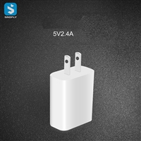 5V 2.4A USB travel charger