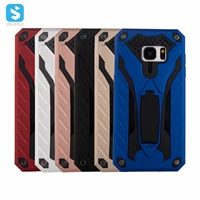 2 in 1 PC TPU with stand phone case for Samsung Galaxy S7 Edge/G935