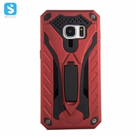 2 in 1 PC TPU with stand phone case for Samsung Galaxy S8