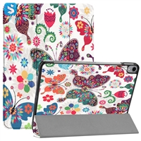 3 fold colorful printing PU leather case for iPad Pro 11