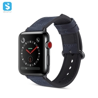 silicone skin PU watchband for Apple watch