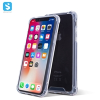 Acrylic four corners shockproof mobile phone case for iphone XS MAX
