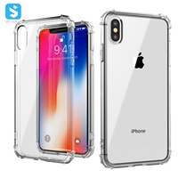 TPU shockproof phone case for iphone X(S)