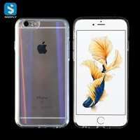 Tempered Glass TPU phone case for iphone 6(S)