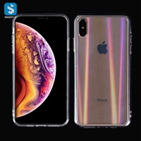 Tempered Glass TPU phone case for iphone XS MAX