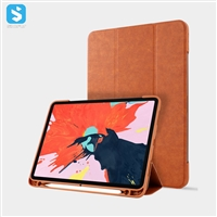 Napa pattern with pen holder for ipad pro 11