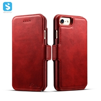 2 in 1 Calfskin pattern univeral leather case for iphone 7 8