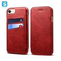 Calfskin pattern universal wallet case for iphone 6 7 8