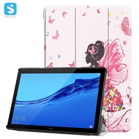 Printing Pu leather case for Huawei MediaPad T5 10.1