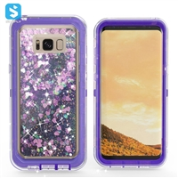 glitter liquid case for Samsung Galaxy S8 plus