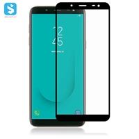 2.5D full cover screen protector for Samsung Galaxy J6 2018/J600F