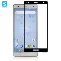 2.5D silk-screen full cover screen protector for Sony Xperia XZ2