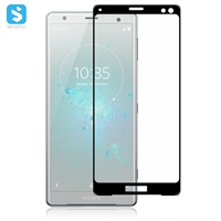 2.5D silk-screen full cover screen protector for Sony Xperia XZ3 (2018)