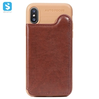 TPU PU leather case for iphone 7 8